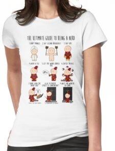 The Ultimate Guide To Being A Nerd Womens Fitted T-Shirt