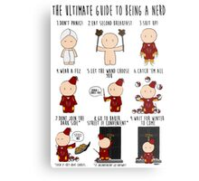 The Ultimate Guide To Being A Nerd Metal Print