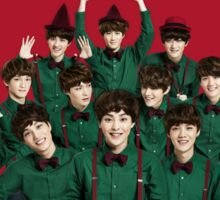 EXO Christmas Miracles in December  Sticker