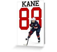 Patrick Kane - Team USA Greeting Card