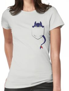 Mini Toothless Womens Fitted T-Shirt