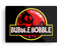 Bubble Bobble Park Metal Print