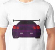 Midnight(ish)  Purple Skyline Unisex T-Shirt