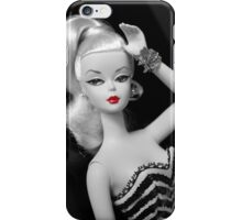 Vintage fashion Barbie doll iPhone Case/Skin