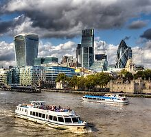 The River Thames by DavidHornchurch