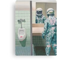 The Men's Room Metal Print