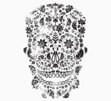 Distressed sugar skull pattern by Matthew Britton