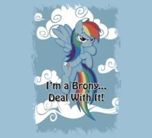 Brony...Deal With It! (Second Version) Kids Tee