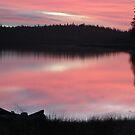 Sunrise at Navajo Lake, Utah by JoAnn Glennie