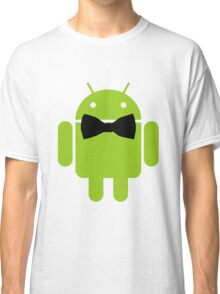 Formal Atire Android Robot Classic T-Shirt