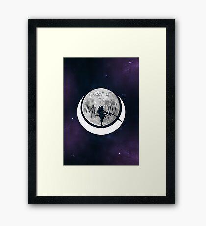 Diana - Chosen of the moon Framed Print