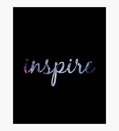 """""""Inspire""""  Photographic Print"""