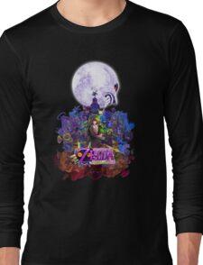 zelda majora's mask Long Sleeve T-Shirt