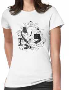 Octopus Ink Womens Fitted T-Shirt