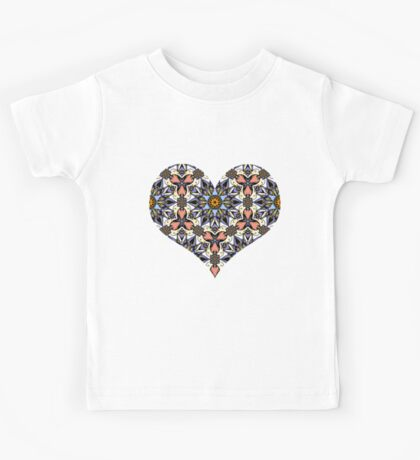 abstract mandala pattern #17 Kids Tee