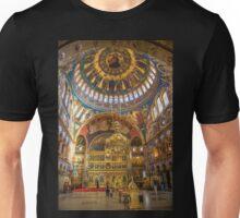 Romania. Transylvania. Sibiu. Orthodox Cathedral. Interior. Unisex T-Shirt