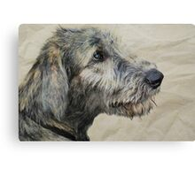 Irish Wolfhound Puppy Canvas Print