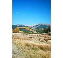 Fall on the slopes Photographic Print