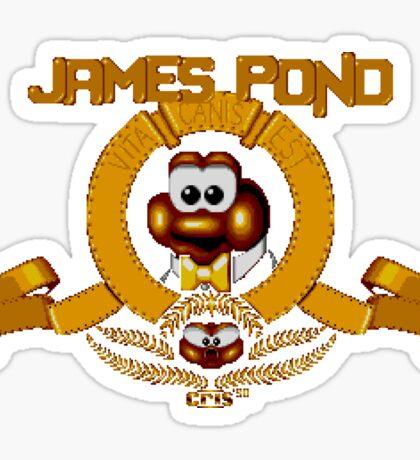 James Pond - SNES Title Screen Sticker