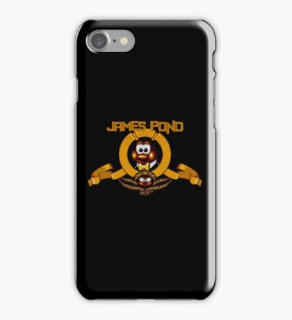 James Pond - SNES Title Screen iPhone Case/Skin