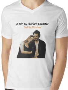 BEFORE SUNRISE // RICHARD LINKLATER (1995) Mens V-Neck T-Shirt