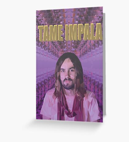 Tame Impala (Kevin Parker) Greeting Card