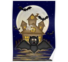 Batty The Crazy Bat Poster