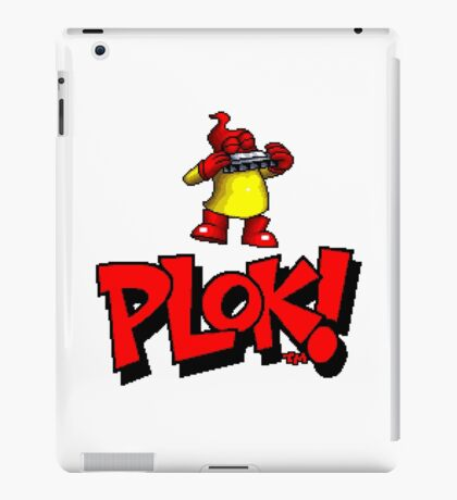 Plok - SNES Title Screen iPad Case/Skin