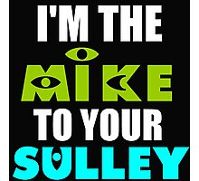 I'M THE MIKE TO YOUR SULLEY Photographic Print