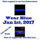 January 1st, 2017 Support the Blue by Doty