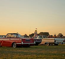 Drive-in sunset by TheRetroJunkie
