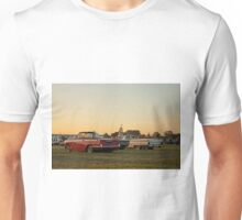 Drive-in sunset Unisex T-Shirt