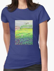 Before going home Womens Fitted T-Shirt