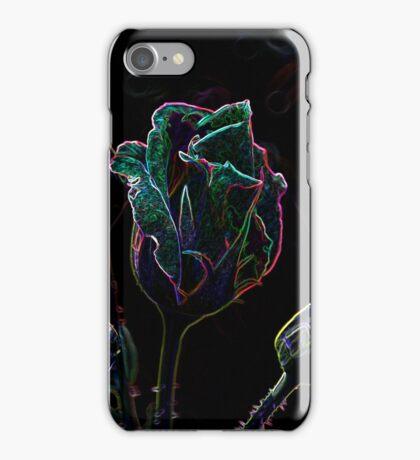 Neon Rosebud iPhone Case/Skin