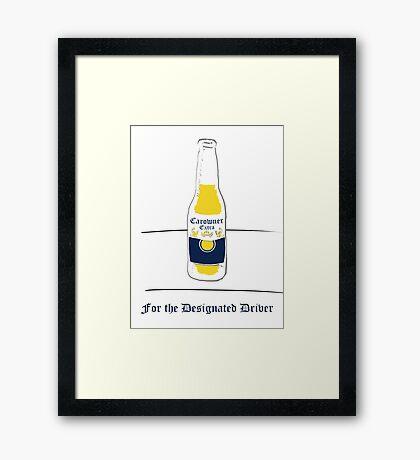 Carowner Extra: Alcohol-free Beer Framed Print
