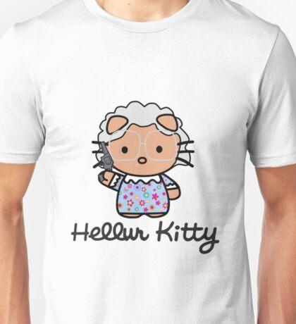 Hellur Kitty Unisex T-Shirt