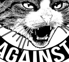 Cats Against Catcalls Sticker