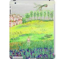 Before going home iPad Case/Skin