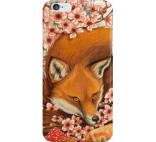 Red Fox Totem. iPhone Case/Skin