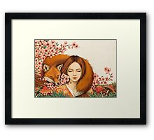 Red Fox Totem. Framed Print