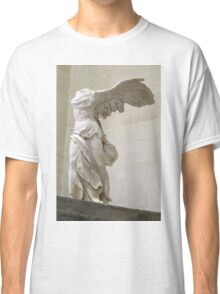 Winged Nike of Samothrace Louvre Classic T-Shirt