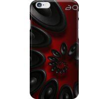 Music Vortex 3.1 Red iPhone Case/Skin