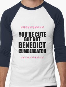 Cute but not Benedict Cumberbatch Men's Baseball ¾ T-Shirt
