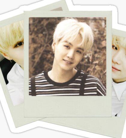 BTS - Suga Polaroid Sticker