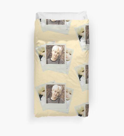 BTS - Suga Polaroid Duvet Cover