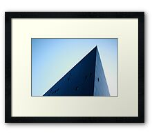 Pointy Building Framed Print