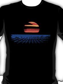 Digital Sunset T-Shirt T-Shirt