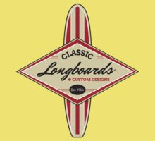 Classic Longboards Custom Surfboards Kids Clothes