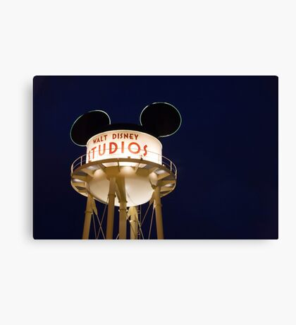 Walt Disney Studios Canvas Print