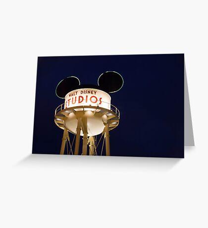 Walt Disney Studios Greeting Card
